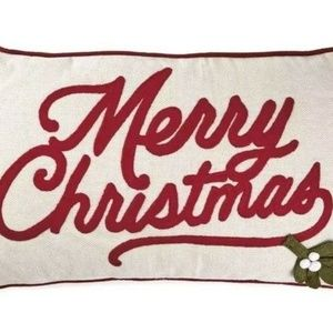 Hallmark Merry Christmas 20x12 Inch Throw Pillow